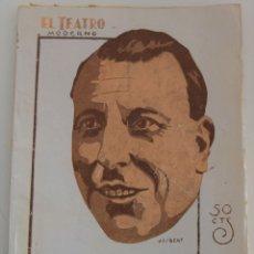 Libros antiguos: EL TEATRO MODERNO Nº 201 - CUANDO ELLAS QUIEREN CADA UNO LO SUYO - POR M. LINARES RIVAS. Lote 182478602