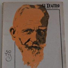 Libros antiguos: EL TEATRO MODERNO Nº 173 - CANDIDA - POR G. BERNARD - SHAW. Lote 182479281