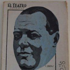Libros antiguos: EL TEATRO MODERNO Nº 216 - EL CASTILLO DE LOS ULTRAJES - POR MUÑOZ SECA. Lote 182480882