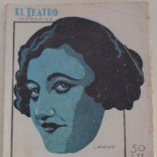 Libros antiguos: EL TEATRO MODERNO Nº 260 - EL TROVADOR - A. GARCIA GUTIERREZ. Lote 182571436