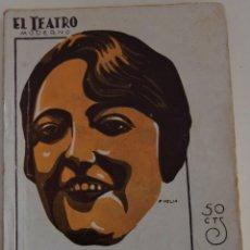 Libros antiguos: EL TEATRO MODERNO Nº 219 - PIPIOLA - SERAFIN Y JOAQUIN ALVAREZ QUINTERO. Lote 182572321