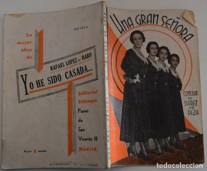 Libros antiguos: LA FARSA Nº 216 - UNA GRAN SEÑORA - POR ENRIQUE SUAREZ DE DEZA - Foto 2 - 182855100