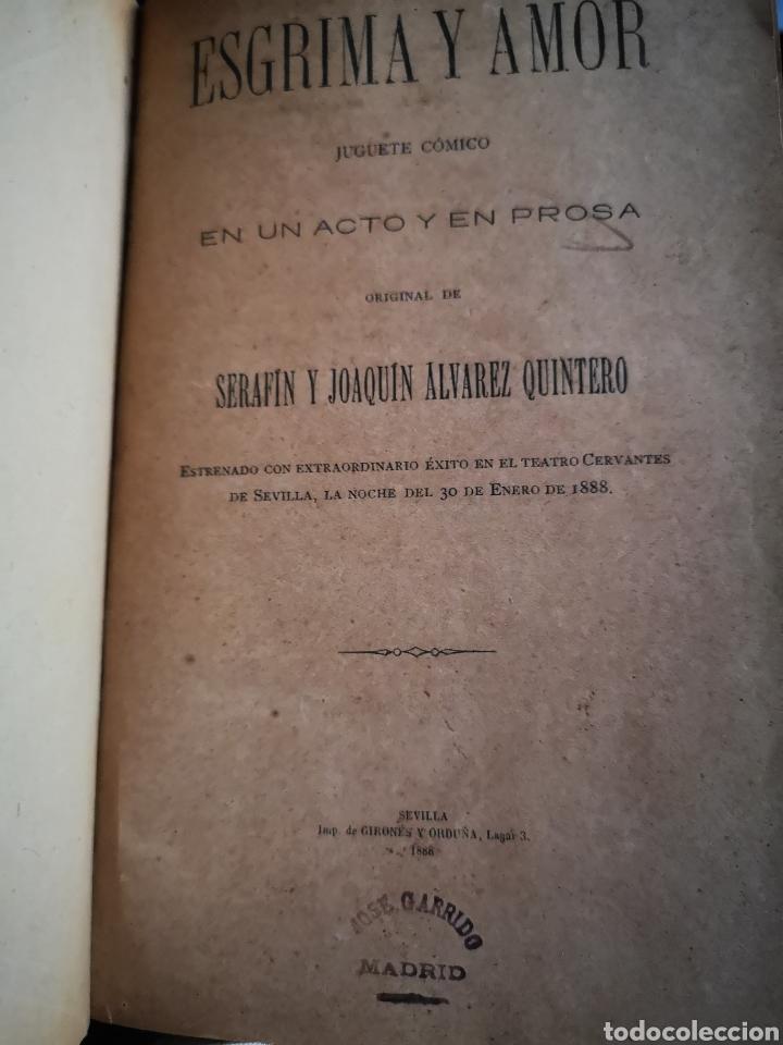 Libros antiguos: Serafín y Joaquín Álvarez Quintero, tomo de 15 primeras ediciones. Dedicadas por los autores - Foto 2 - 183174895