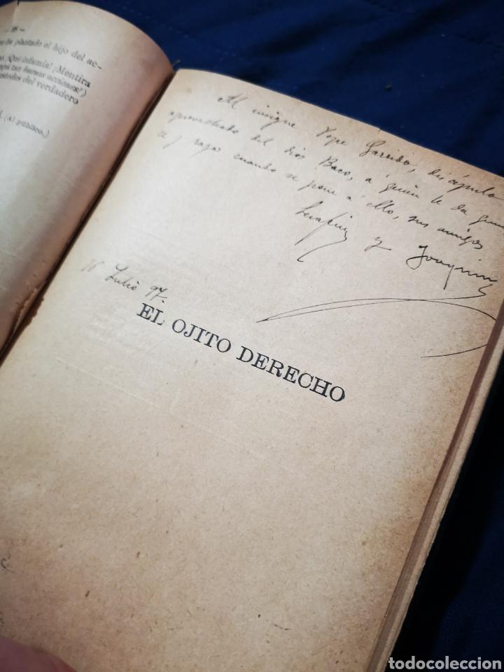 Libros antiguos: Serafín y Joaquín Álvarez Quintero, tomo de 15 primeras ediciones. Dedicadas por los autores - Foto 9 - 183174895