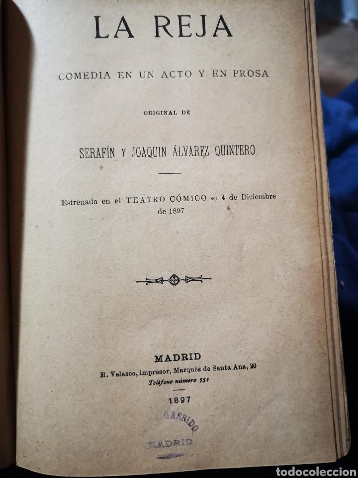 Libros antiguos: Serafín y Joaquín Álvarez Quintero, tomo de 15 primeras ediciones. Dedicadas por los autores - Foto 10 - 183174895