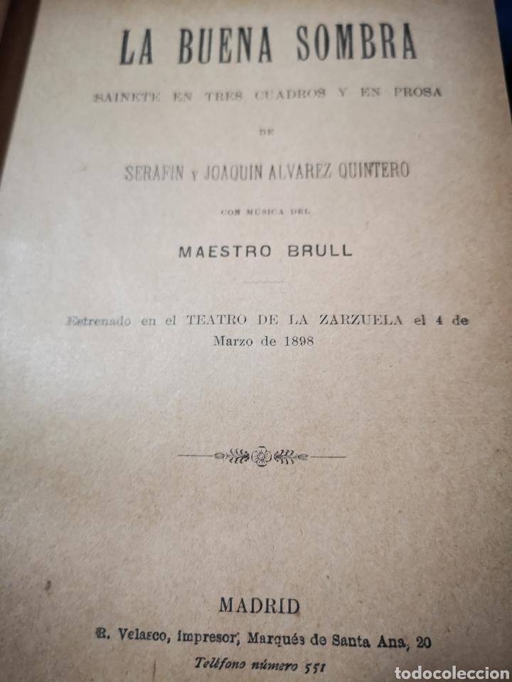 Libros antiguos: Serafín y Joaquín Álvarez Quintero, tomo de 15 primeras ediciones. Dedicadas por los autores - Foto 12 - 183174895