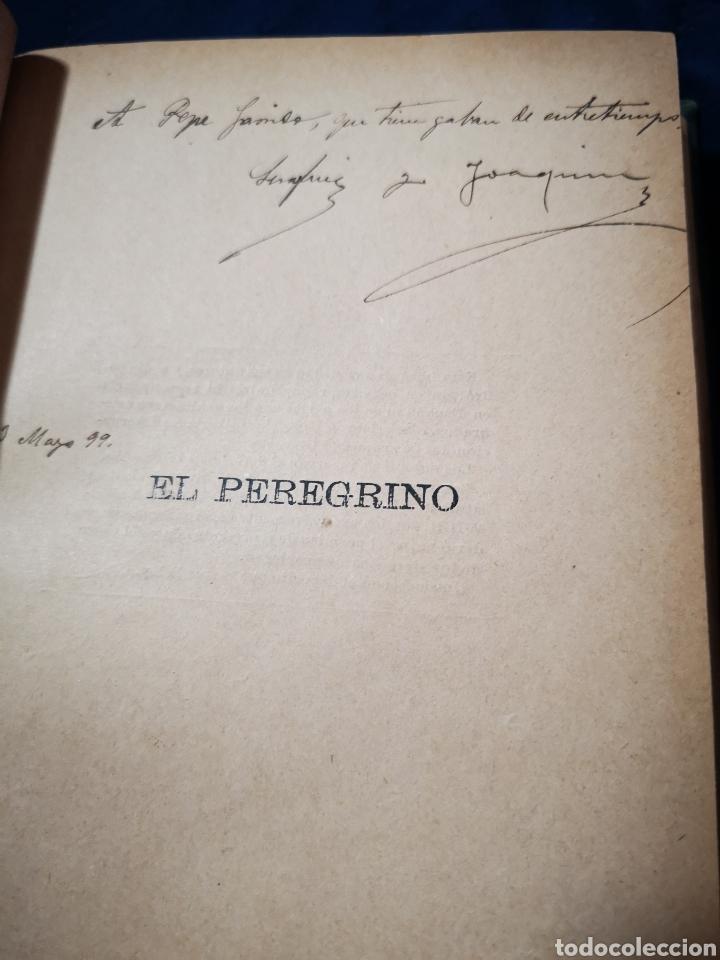 Libros antiguos: Serafín y Joaquín Álvarez Quintero, tomo de 15 primeras ediciones. Dedicadas por los autores - Foto 13 - 183174895