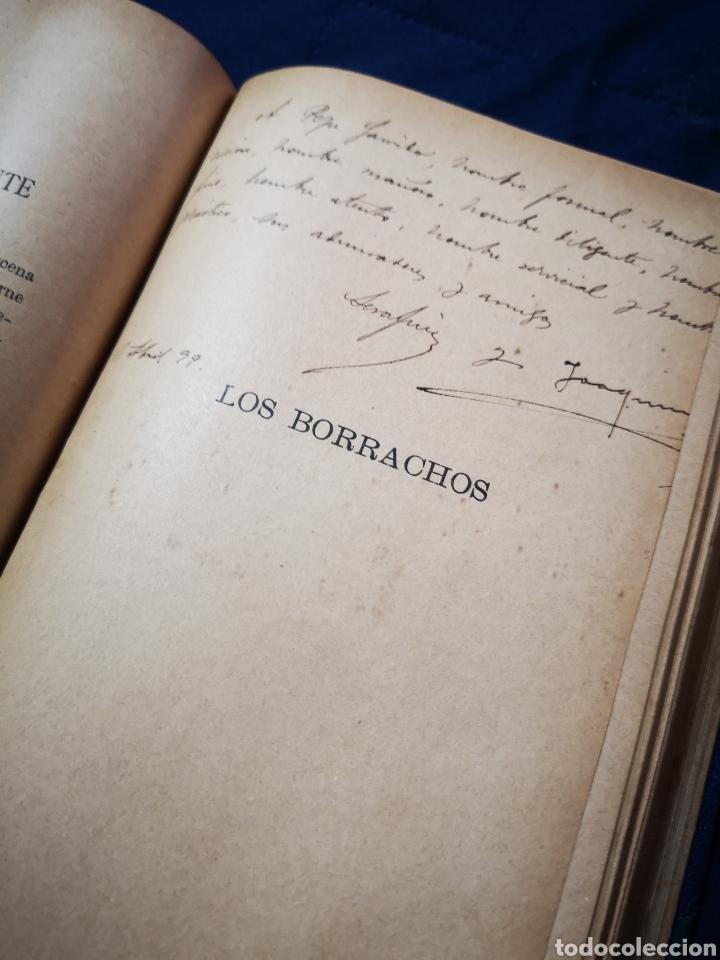 Libros antiguos: Serafín y Joaquín Álvarez Quintero, tomo de 15 primeras ediciones. Dedicadas por los autores - Foto 14 - 183174895