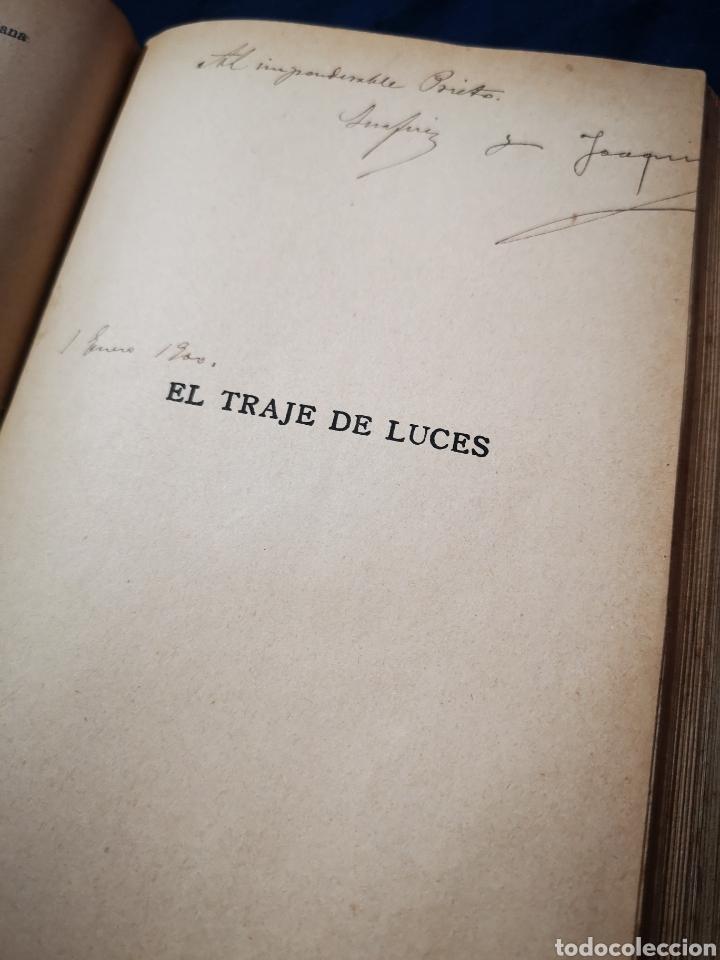 Libros antiguos: Serafín y Joaquín Álvarez Quintero, tomo de 15 primeras ediciones. Dedicadas por los autores - Foto 16 - 183174895