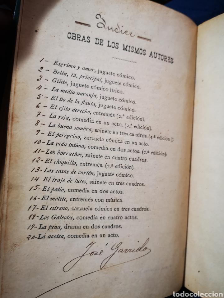 Libros antiguos: Serafín y Joaquín Álvarez Quintero, tomo de 15 primeras ediciones. Dedicadas por los autores - Foto 20 - 183174895