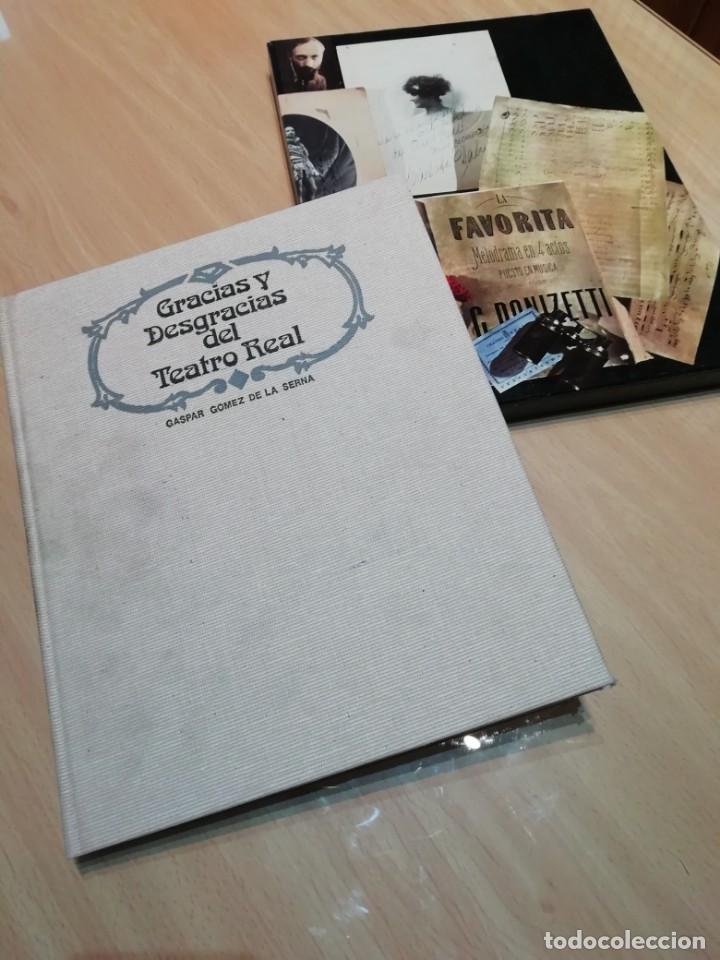GRACIAS Y DESGRACIAS DEL TEATRO REAL (Libros antiguos (hasta 1936), raros y curiosos - Literatura - Teatro)