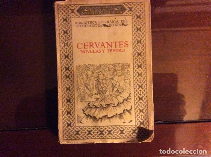 CERVANTES NOVELAS Y TEATRO MADRID 1922 (Libros antiguos (hasta 1936), raros y curiosos - Literatura - Teatro)