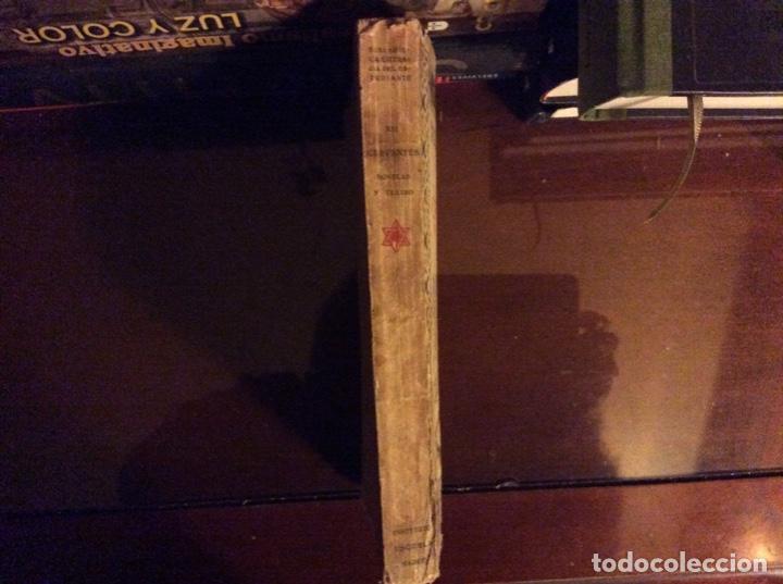 Libros antiguos: Cervantes novelas y teatro Madrid 1922 - Foto 2 - 184123516