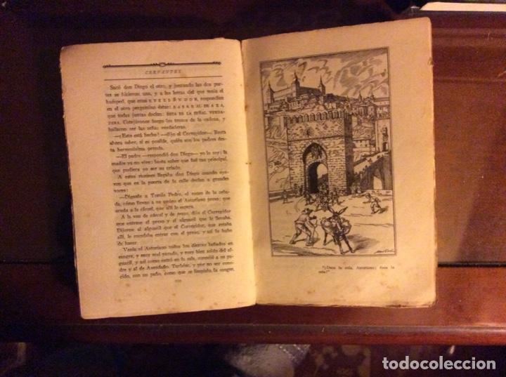 Libros antiguos: Cervantes novelas y teatro Madrid 1922 - Foto 4 - 184123516