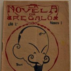 Libros antiguos: LA NOVELA CON REGALO - DON JUAN - POR JACINTO BENAVENTE - AÑO 1916. Lote 184274811