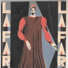 Libros antiguos: EL CARDENAL - M. LINARES RIVAS Y F. REPARAZ - LA FARSA 106. Lote 184893457