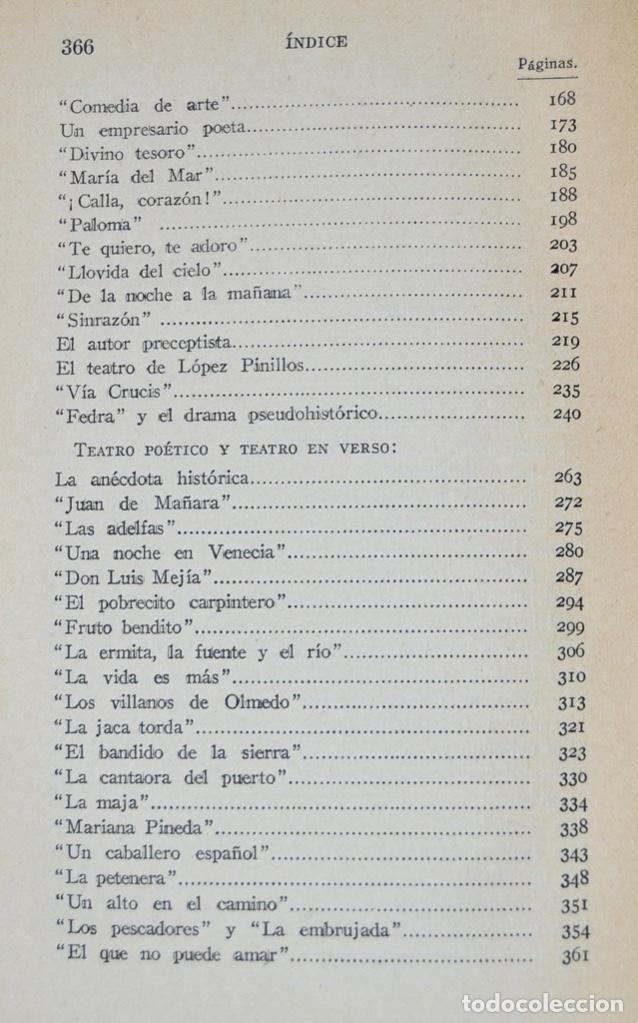 Libros antiguos: Enrique de Mesa. Obras Completas. Apostillas a la Escena. Renacimiento. 1º Edición. Madrid, 1929 - Foto 5 - 185253081