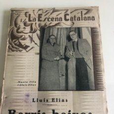 Libros antiguos: BARRIS BAIXOS. Lote 185978697