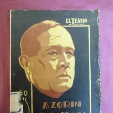 Libros antiguos: EL TEATRO MODERNO/OLD SPAIN/AZORIN/MADRID 1928.. Lote 187214193