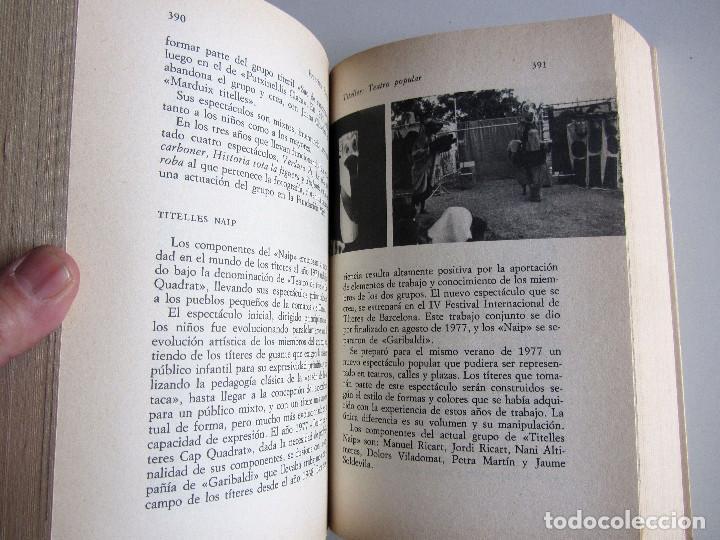 Libros antiguos: Titelles. Teatro popular. Francisco Porras. Biblioteca de visionarios heterodoxos y marginados. - Foto 10 - 191717542