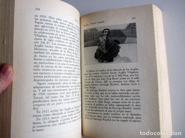Libros antiguos: Titelles. Teatro popular. Francisco Porras. Biblioteca de visionarios heterodoxos y marginados. - Foto 12 - 191717542