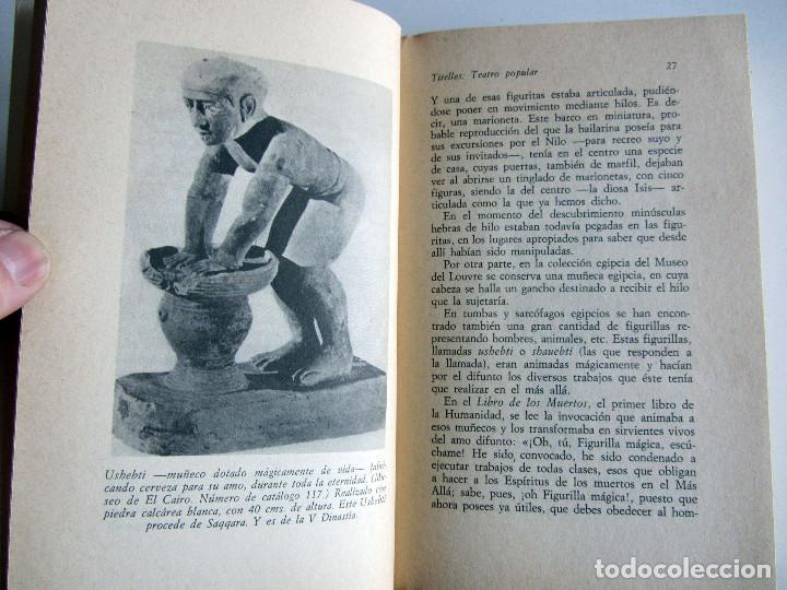 Libros antiguos: Titelles. Teatro popular. Francisco Porras. Biblioteca de visionarios heterodoxos y marginados. - Foto 15 - 191717542