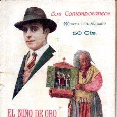Libros antiguos: JOSÉ Mª GRANADA . EL NIÑO DE ORO (LOS CONTEMPORÁNEOS, 1923). Lote 244476400