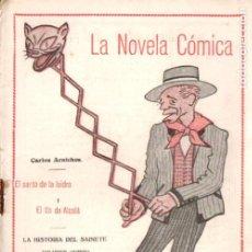 Libros antiguos: CARLOS ARNICHES . EL SANTO DE LA ISIDRA Y EL TÍO DE ALCALÁ (NOVELA CÓMICA, 1917). Lote 192887268