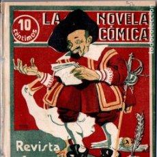 Libros antiguos: MUÑOZ SECA . DOÑA MARÍA CORONEL (NOVELA CÓMICA, 1917) . Lote 192887543