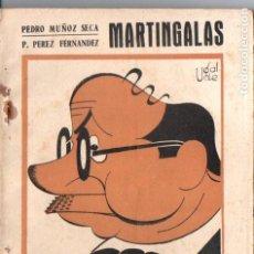 Libros antiguos: MUÑOZ SECA Y PEREZ FERNANDEZ . MARTINGALAS (BIBLIOTECA TEATRAL, C. 1920). Lote 192888347
