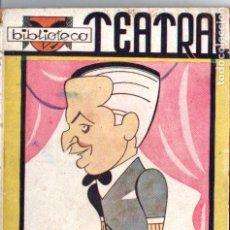 Libros antiguos: MARIANO TOMÁS . GAECILASO DE LA VEGA (BIBLIOTECA TEATRAL, C. 1920). Lote 192888525