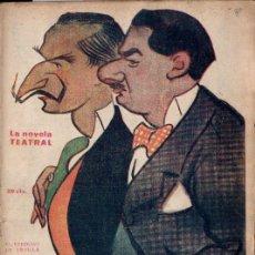 Libros antiguos: 27 NÚMEROS LA NOVELA TEATRAL (C. 1920) VER IMÁGENES. Lote 192987053