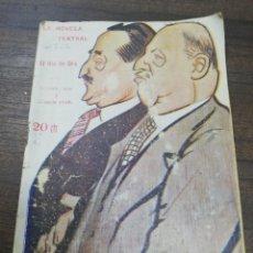 Libros antiguos: LA NOVELA TEATRAL. EL RIO DE ORO. AÑO II. MARZO DE 1917. Nº 13. . Lote 193700980