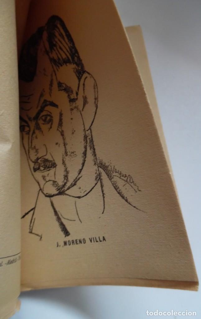 Libros antiguos: La comedia de un tímido de José Moreno Villa. 1ª ed. 1924, intonso. Retrato de Vázquez Díaz - Foto 2 - 194098953