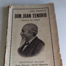 Libros antiguos: DON JUAN TENORIO. Lote 194405752