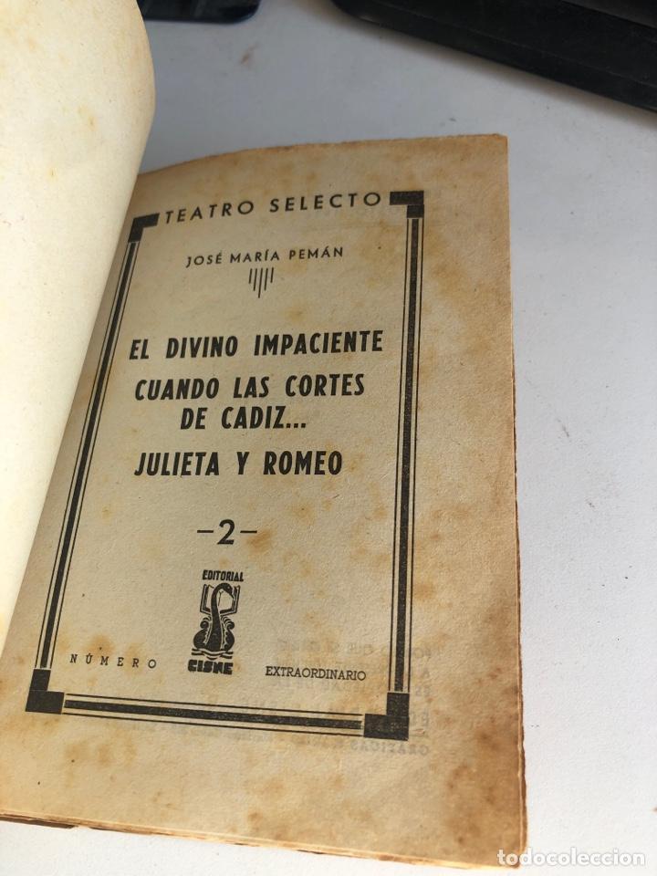 Libros antiguos: El divino impaciente - Foto 3 - 194406736