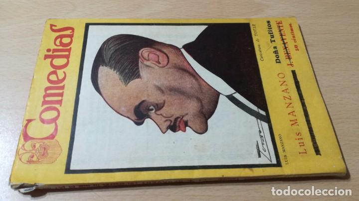 COMEDIAS - DOÑA TUFITOS - LUIS MANZANO - 1926M302 (Libros antiguos (hasta 1936), raros y curiosos - Literatura - Teatro)