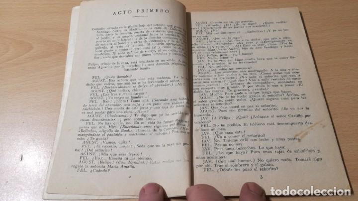 Libros antiguos: COMEDIAS - DOÑA TUFITOS - LUIS MANZANO - 1926M302 - Foto 4 - 194912092