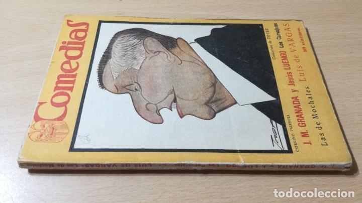 COMEDIAS - LOS CARVAJALES - J M GRANADA / J LUENGO - 1926M302 (Libros antiguos (hasta 1936), raros y curiosos - Literatura - Teatro)