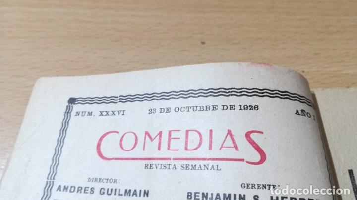 Libros antiguos: COMEDIAS - LOS CARVAJALES - J M GRANADA / J LUENGO - 1926M302 - Foto 5 - 194912128