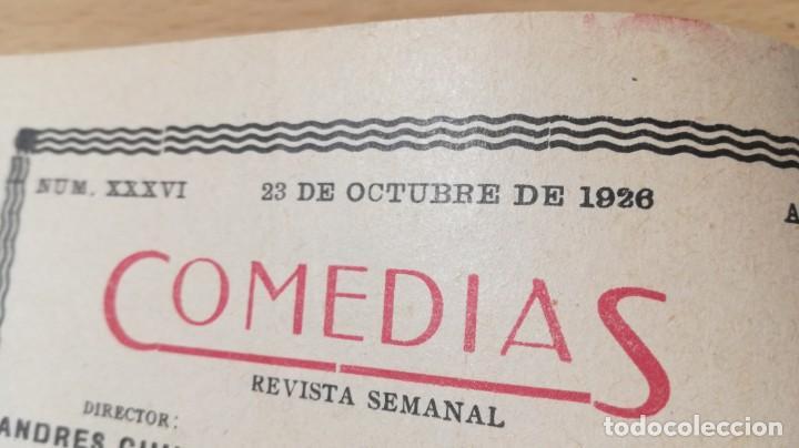 Libros antiguos: COMEDIAS - LOS CARVAJALES - J M GRANADA / J LUENGO - 1926M302 - Foto 6 - 194912128