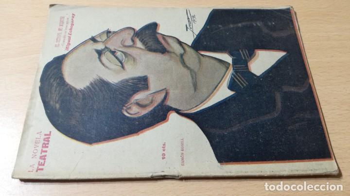 EL OCTAVO NO MENTIR - MIGUEL ECHEGARAY - LA NOVELA TEATRAL 1919M302 (Libros antiguos (hasta 1936), raros y curiosos - Literatura - Teatro)