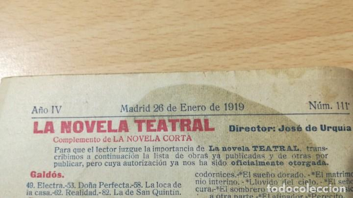 Libros antiguos: EL OCTAVO NO MENTIR - MIGUEL ECHEGARAY - LA NOVELA TEATRAL 1919M302 - Foto 6 - 194912217