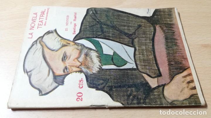 EL MÍSTICO - SANTIAGO RUSIÑOL - LA NOVELA TEATRAL - 1916 (Libros antiguos (hasta 1936), raros y curiosos - Literatura - Teatro)