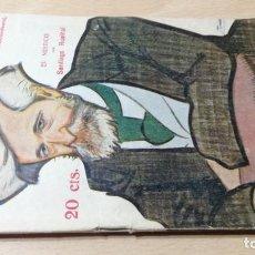 Libros antiguos: EL MÍSTICO - SANTIAGO RUSIÑOL - LA NOVELA TEATRAL - 1916. Lote 194912478