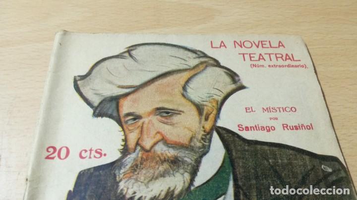 Libros antiguos: EL MÍSTICO - SANTIAGO RUSIÑOL - LA NOVELA TEATRAL - 1916 - Foto 3 - 194912478