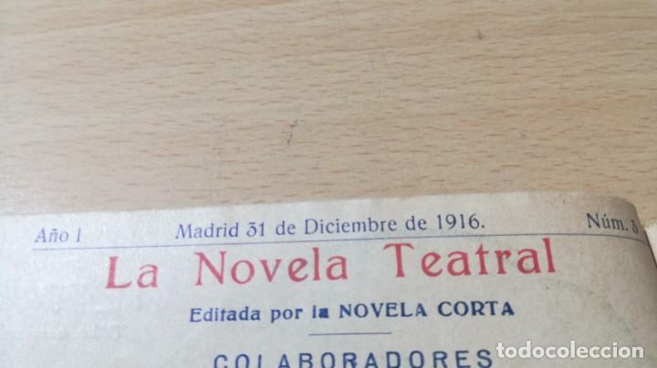 Libros antiguos: EL MÍSTICO - SANTIAGO RUSIÑOL - LA NOVELA TEATRAL - 1916 - Foto 5 - 194912478
