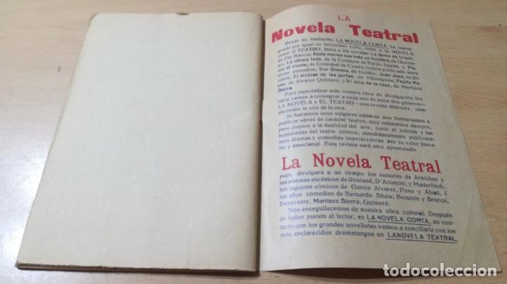 Libros antiguos: EL MÍSTICO - SANTIAGO RUSIÑOL - LA NOVELA TEATRAL - 1916 - Foto 6 - 194912478