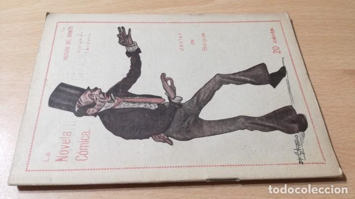 HISTORIA SAINETE - JAVIER DE BURGOS VOL III - LA NOVELA COMICA 1917M304 (Libros antiguos (hasta 1936), raros y curiosos - Literatura - Teatro)