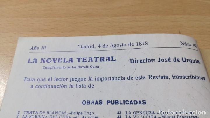 Libros antiguos: LA TEMPESTAD - M RAMOS CARRION - LA NOVELA TEATRAL ¿ 1818 ?M304 - Foto 5 - 194912647